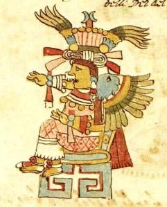 Diosa Xochiquetzal - Códice Ríos