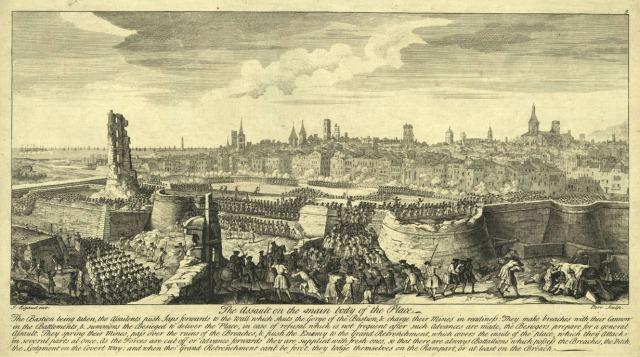 Sito a Barcelona. 11 de septiembre de 1714  (Jacques Rigaud)